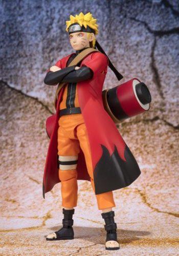 Figura Naruto S.H. Figuarts Naruto Uzumaki Sage Mode Advanced 14 cm