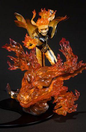 Figura Naruto Shippuden FiguartsZERO Naruto Uzumaki Kurama Kizuna Relation 21 cm
