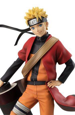 Figura Naruto Shippuden Serie GEM Naruto Uzumaki Sennin Mode 20 cm