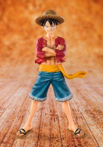 Figura One Piece Straw Hat Luffy 14 cm