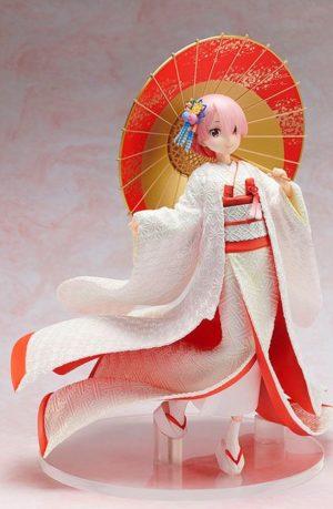 Figura Ram Shiromuku Re ZERO