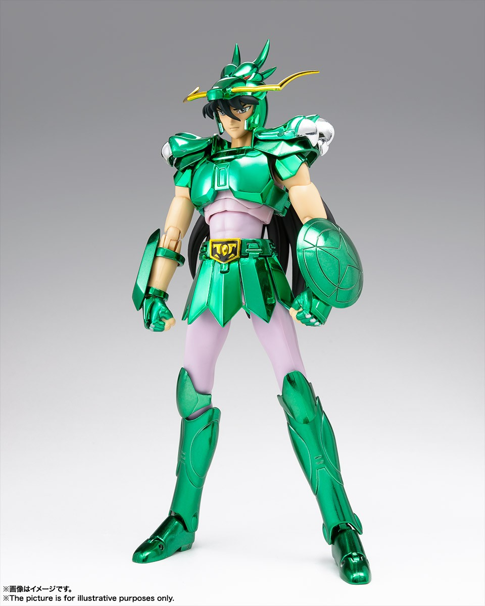 Figura Saint Seiya Myth Cloth Dragon Shiryu Version Revival 16 cm