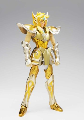 Figura Saint Seiya Myth Cloth EX Hyoga Armadura de Oro de Acuario 18 cm