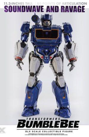 Figura Transformers Bumblebee Soundwave y Ravage