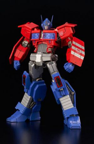 Figura Transformers Furai Model Plastic Kit Optimus Prime IDW 16 cm