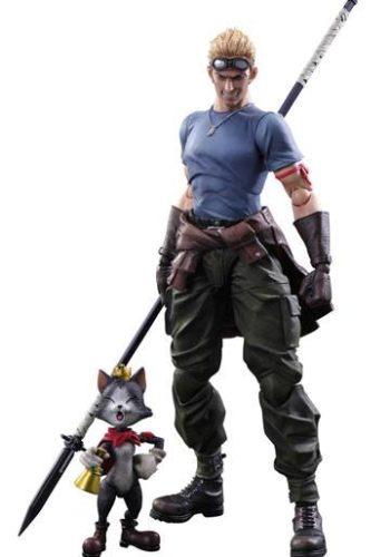 Figuras Final Fantasy VII Advent Children Cid Highwind y Cait Sith 9 - 27 cm