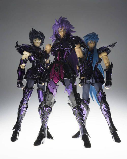 Figuras Saint Seiya Myth Cloth EX Broken Surplice Set Armaduras Espectro Rotas
