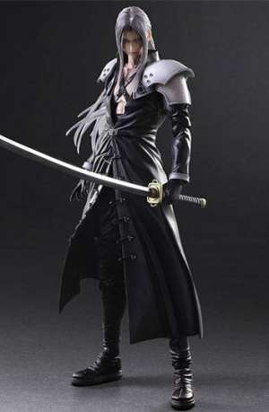 Final Fantasy VII Advent Children Play Arts Kai Figura Sephiroth 01