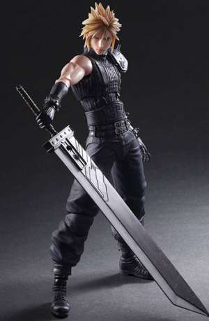 Final Fantasy VII Remake Play Arts Kai Figura No. 1 Cloud Strife 01