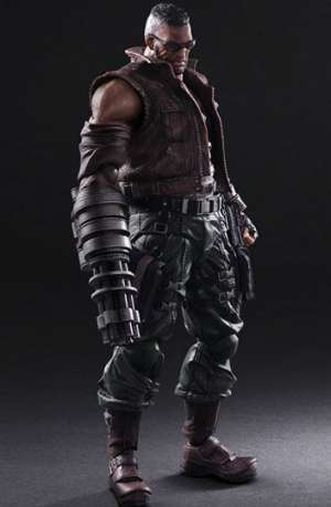 Final Fantasy VII Remake Play Arts Kai Figura No. 2 Barret Wallace 01