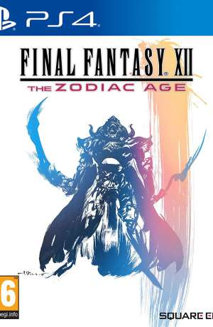 Final Fantasy XII The Zodiac Age PS4 Portada