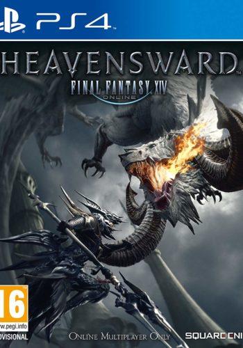 Final Fantasy XIV Heavensward PS4 Portada