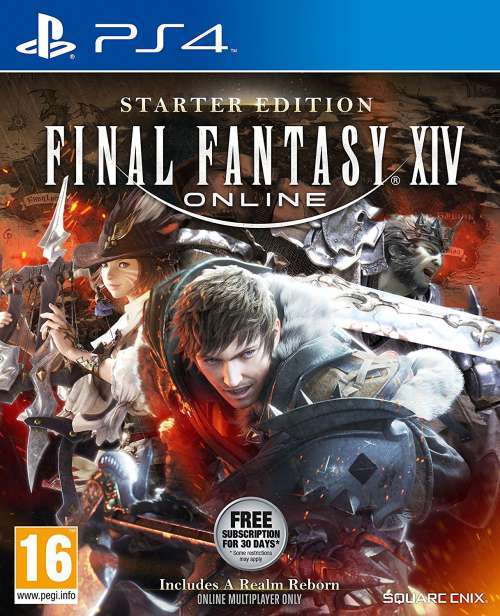 Final Fantasy XIV Starter Edition PS4 Portada