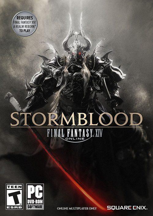 Final Fantasy XIV Stormblood PC Portada