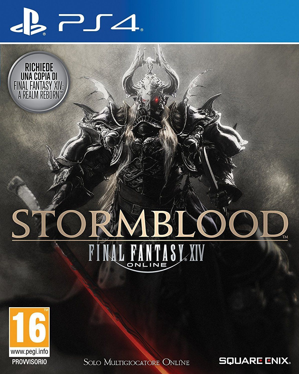Final Fantasy XIV Stormblood PS4 Portada