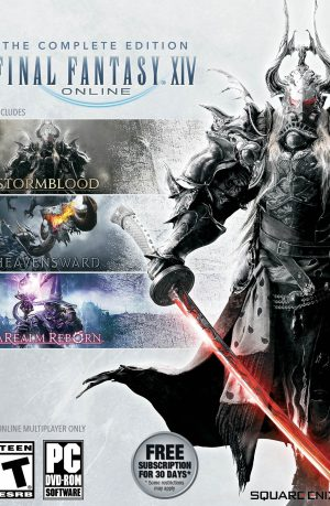 Final Fantasy XIV complete edition PC Portada