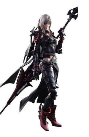 Final Fantasy XV Play Arts Kai Figura Aranea Highwind 01
