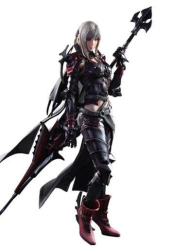 Final Fantasy XV Play Arts Kai Figura Aranea Highwind 01