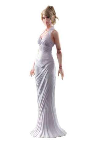 Final Fantasy XV Play Arts Kai Figura Lunafreya Nox Fleuret 01