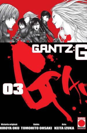 Gantz G Manga tomo 03