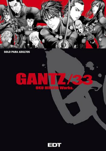 Gantz Manga tomo 33