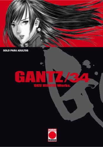 Gantz Manga tomo 34