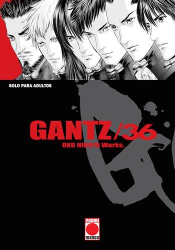 Gantz Manga tomo 36