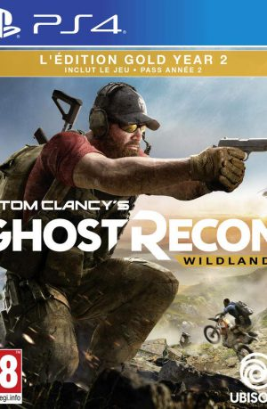 Ghost Recon Wildlands Year 2 PS4 Portada