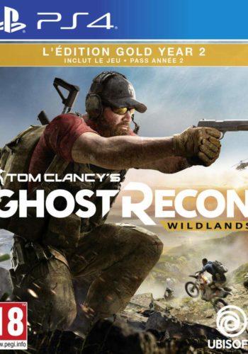 Ghost Recon Wildlands Year 2 PS4 Portada