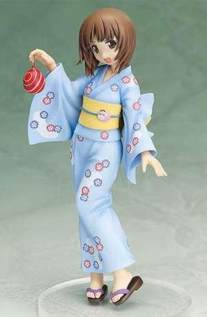 Girls und Panzer Figura Miho Nishizumi Yukata Version 01