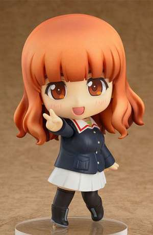 Girls und Panzer Figura Nendoroid Saori Takebe 10 cm 01