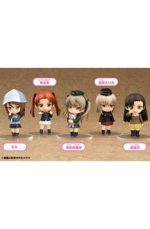 Girls und Panzer der Film 6 Minifiguras Nendoroid Petite 7 cm Expositor Series 02 01