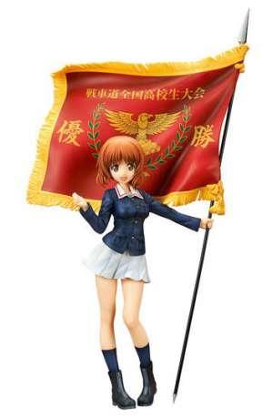 Girls und Panzer der Film Figura Miho Nishizumi Winning Flag 01