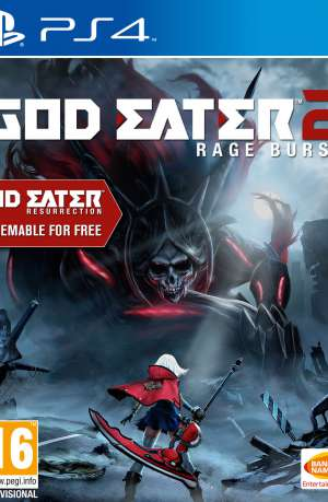God Eater Resurrection + God Eater 2 Rage Burst PS4 Portada