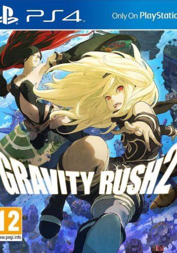 Gravity Rush 2 PS4 Portada