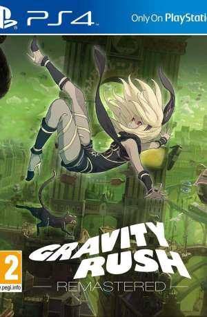 Gravity Rush PS4 Portada