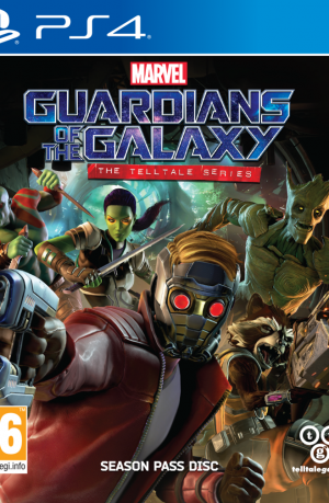 Guardians of The Galaxy PS4 Portada