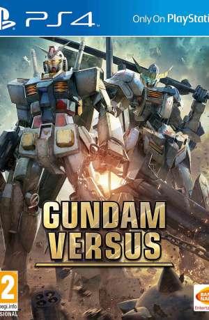 Gundam Versus PS4 Portada