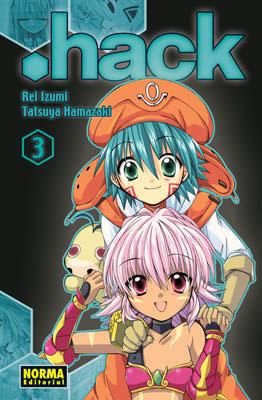 .Hack manga tomo 3