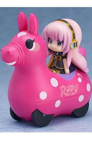 Hatsune Miku x Cute Rody Vehículo De Fricción con Minifigura Megurine Luka 01