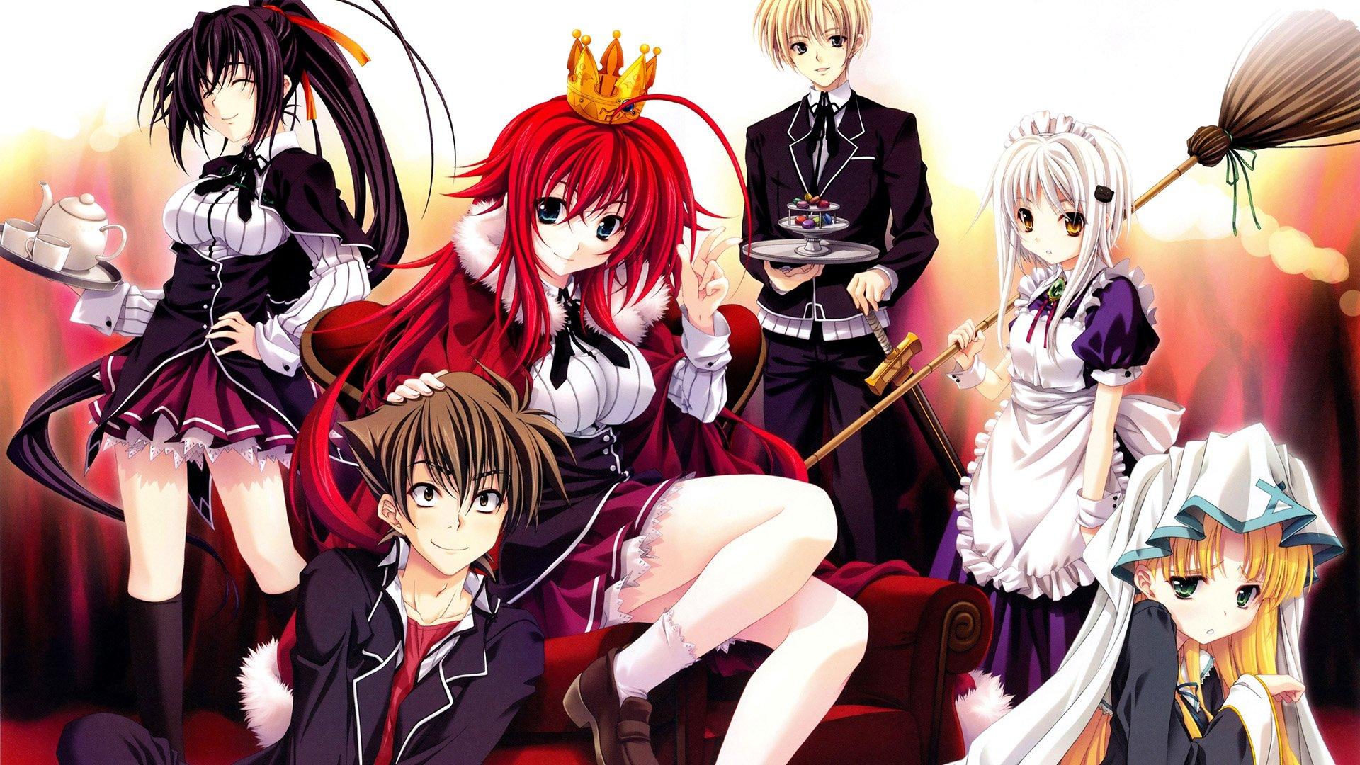 High-School-DxD-p01 - Descargar High School DxD [DxD,New,Born,Hero] Por Mega Ligero - Anime Ligero [Descargas]