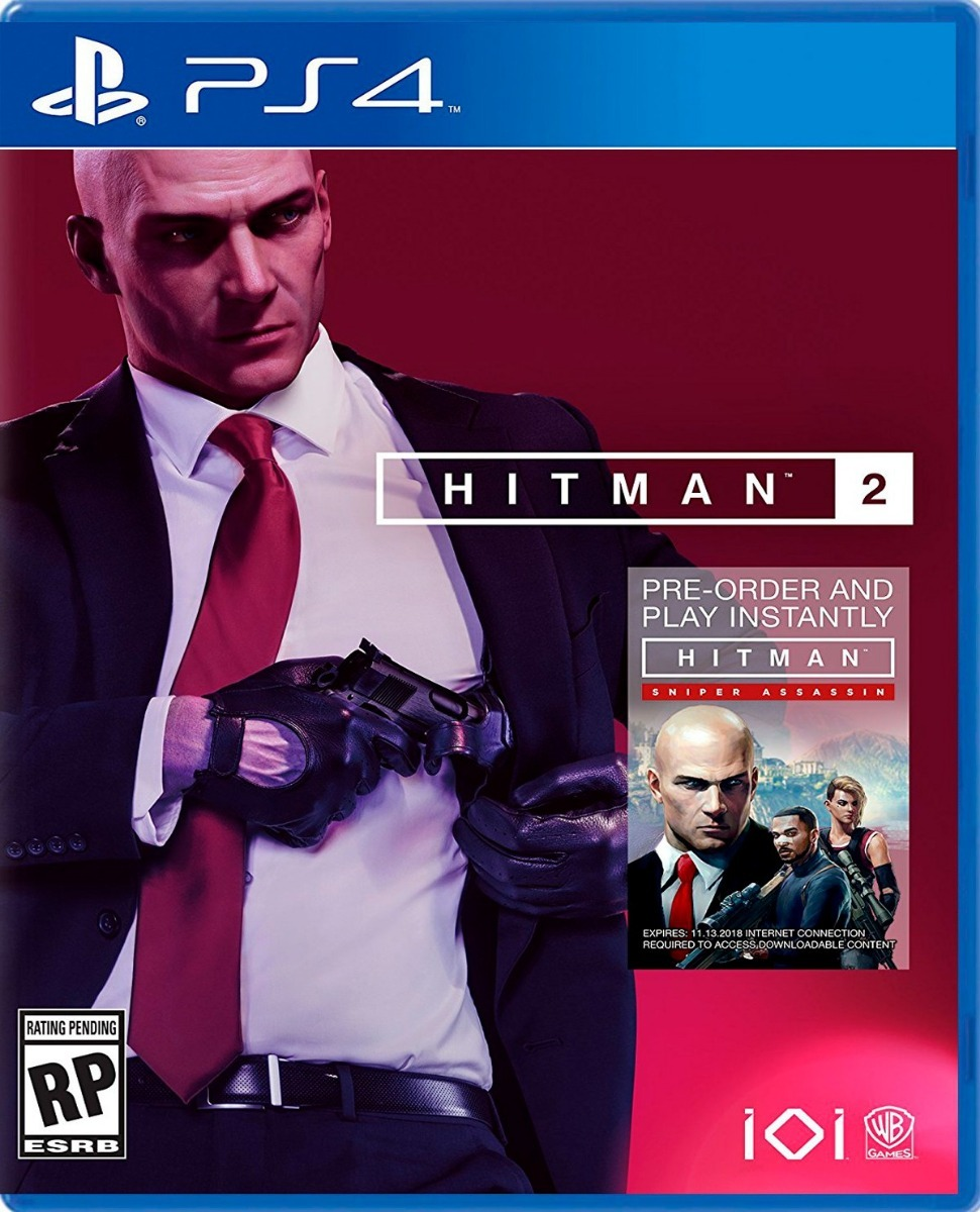 Hitman 2 Standard Edition PS4 Portada