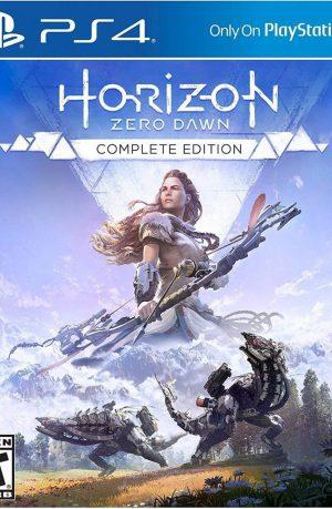 Horizon Zero Dawn Complete Edition PS4 Portada