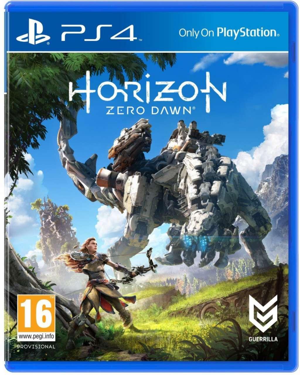 Horizon Zero Dawn Standard Edition PS4 Portada