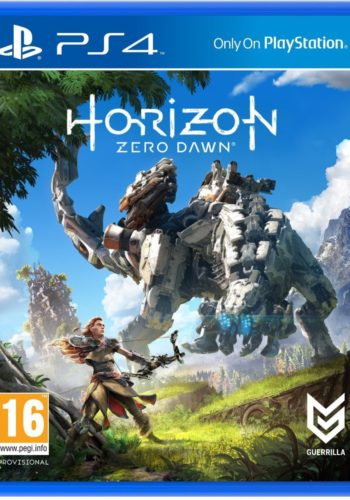 Horizon Zero Dawn Standard Edition PS4 Portada