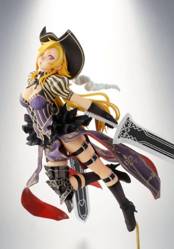 Hyakka Ryoran Samurai Girls Figura Charles de D'Artagnan Limited Edition 01