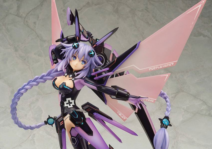 Hyperdimension Neptunia Figura Purple Heart 35 cm 11