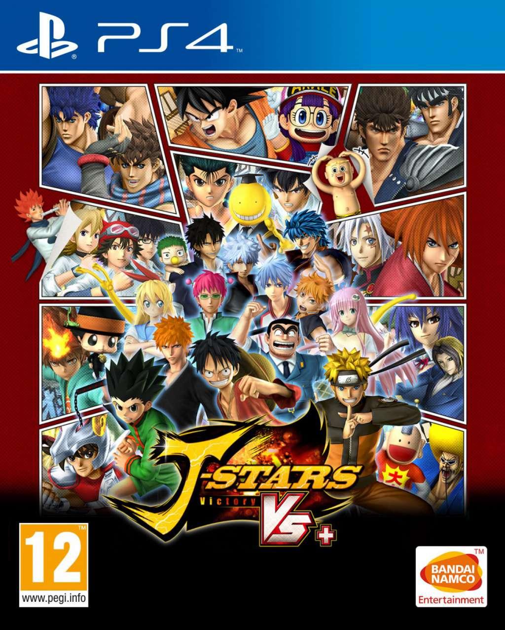 J-Stars Victory Vs PS4 Portada