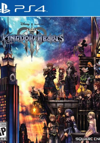 Kingdom Hearts III PS4 Portada