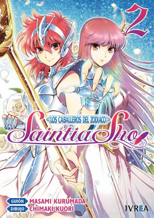 Los Caballeros del Zodiaco Saintia Sho Manga 02